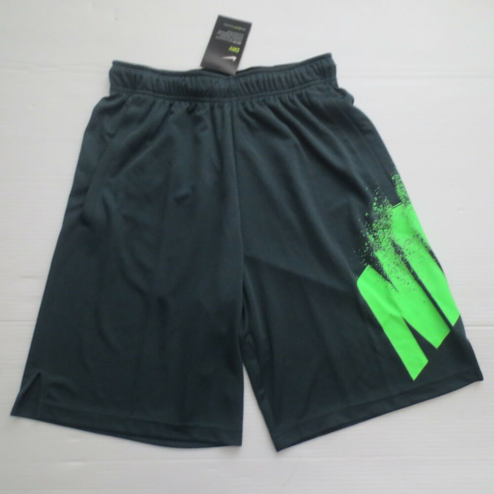 a1fbbf354522 Details about Nike Men Dry GFX 1 Training Shorts - 891216 - Jungle 328 -  Size M - NWT