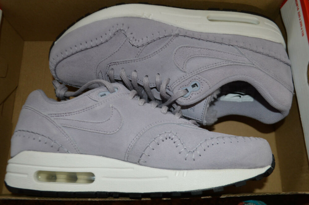 promo code 4266b e0753 Details about New Nike Womens Air Max 1 PRM Running Shoes 454746-501 Sz 7  Providence Purple