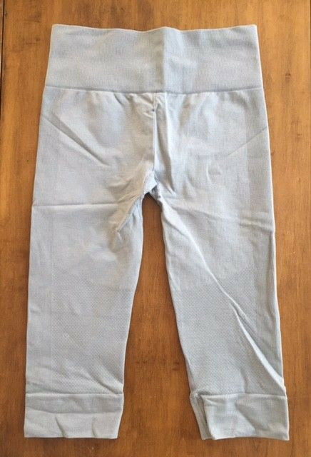 e87f10562e8c11 Details about Womens LULULEMON ATHLETICA CAPRI LEGGINGS Yoga Pants GRAY Size  6