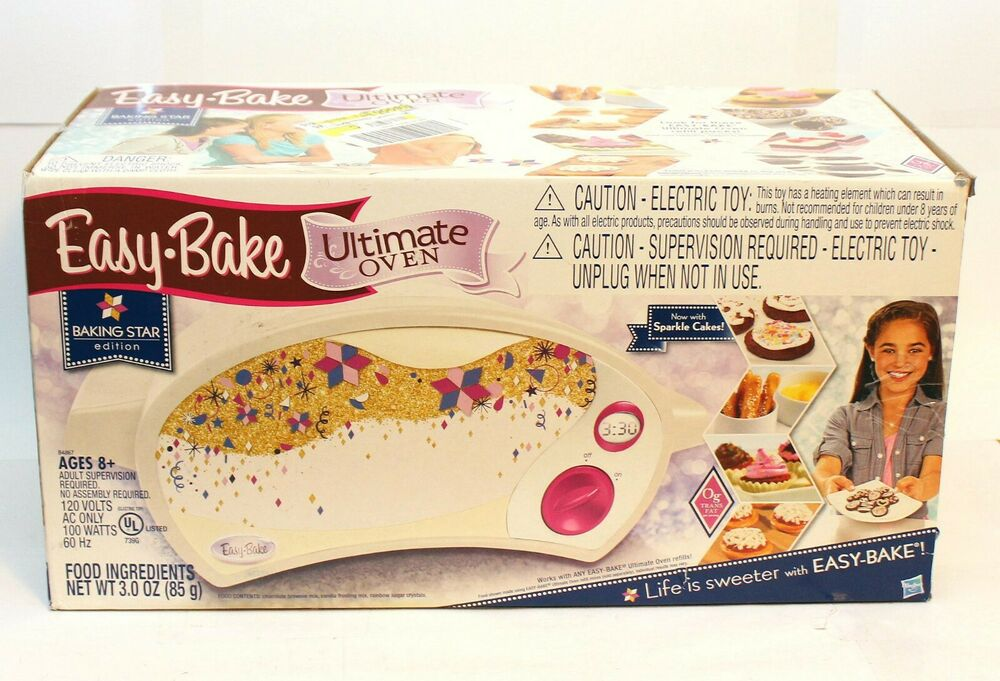 Easy-Bake Ultimate Oven Baking Star Edition Pretend Play ...