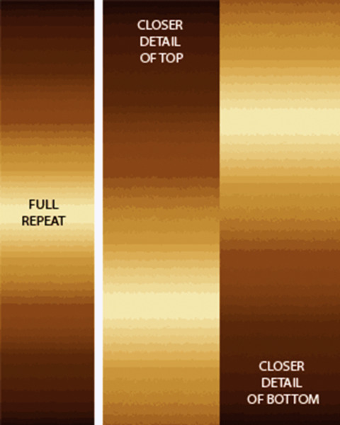 SALE*CARYL B FALLERT*OMBRE GRADATION**CHOCOLATE**GREAT FOR BORDERS/1/2 METRE