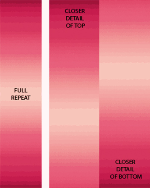 SALE*CARYL B FALLERT*OMBRE GRADATION**RED ROSE**GREAT FOR BORDERS/ 1/2 METRE