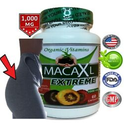 Maca Root Powder capsule for woman red black yellow bigger butt and hips booty