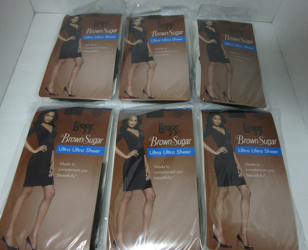 af0c6d0a02b59 Details about 6 Pairs L'eggs Brown Sugar Control Top Pantyhose Stockings M  Coffee 50306