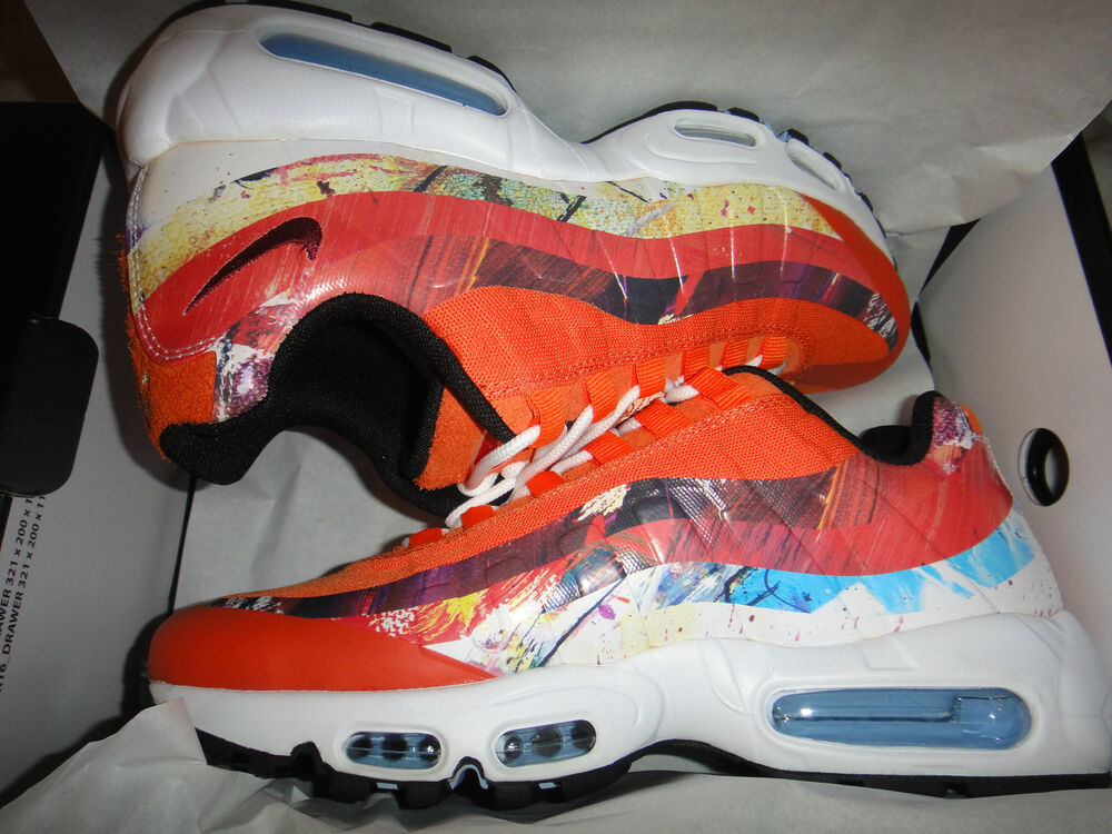 half off 1f504 3dcdf Details about Nike X Size  X Dave White Air Max 95 Dw SIZE 7 ONLY!