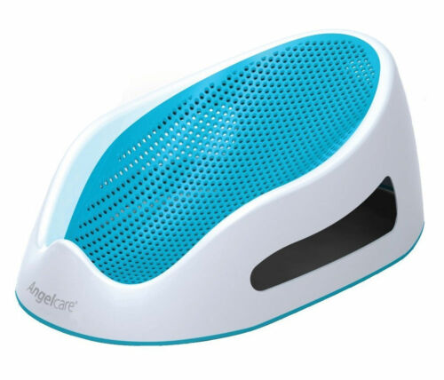Angelcare AC3000 Soft Touch Bath Support - Aqua Up to 9months.