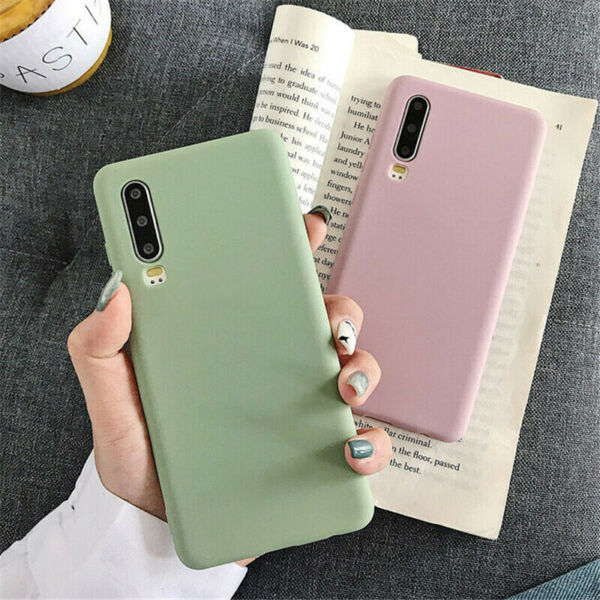 For Huawei P30 P20 Pro P30Lite Love Pattern Slim Soft Silicone Rubber Case Cover