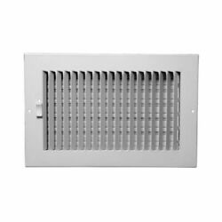 ProSelect PS1WW - 10'' x 6'' Duct Connection - Steel One-Way Sidewall/Ceiling R...