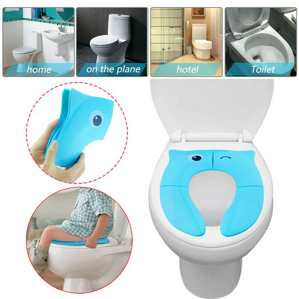 Portable Potty Seat For Toddler Travel Foldable Non Slip