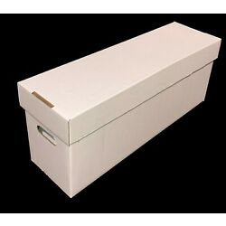 Kyпить 10 CSP COLLECT SAVE PROTECT Long DOUBLEWALL Cardboard Comic Book Storage Boxes  на еВаy.соm