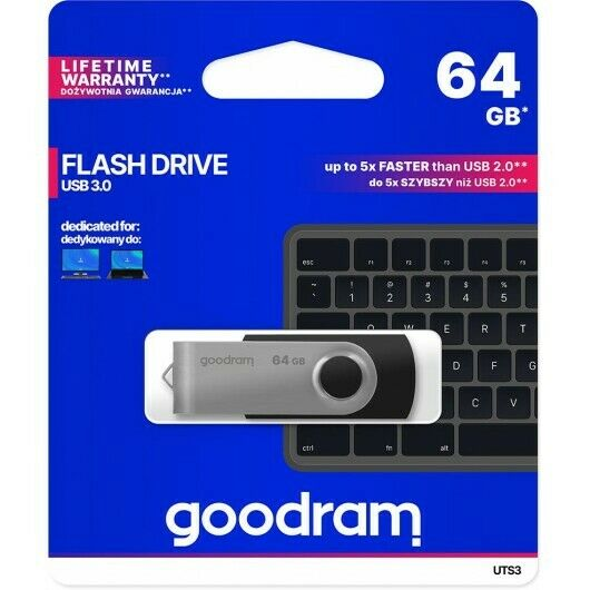 PENDRIVE USB 3.1 KINGSTON CHIAVETTA 64GB 64 GB MEMORIA 3.0 PENNA PENNETTA PC