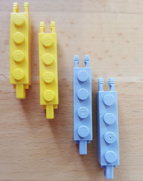 Lego ® Lot x2 Supports Bracket 2X3X1 1//3 Choose Color ref 18671 NEW