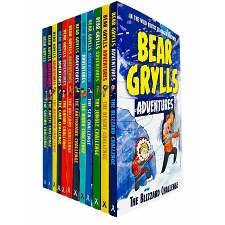 img-Bear Grylls Adventure 12 Books Young Adult Collection Paperback Set