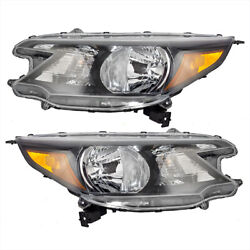 Kyпить New Pair Set Halogen Headlight Headlamp Housing Assembly for 12-14 Honda CR-V на еВаy.соm