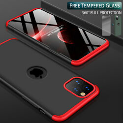 Kyпить Slim Hybrid Shockproof Thin Case Cover Tempered Glass for iPhone 12 11 Pro Max на еВаy.соm