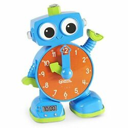 Learning Resources LER2385 Clock,learning,talk,robot
