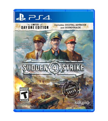 Sudden Strike 4 (PS4) - PlayStation 4 - New Sealed