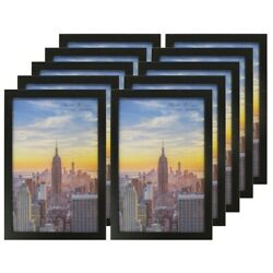 Kyпить Frame Amo Black Wood Picture Frames or Poster Frames, 1 inch Wide, Smooth Wrap на еВаy.соm