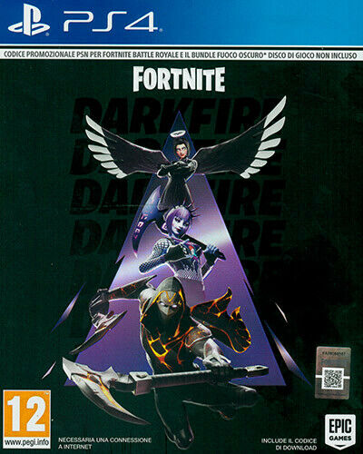 Fortnite - Bundle Fuoco Oscuro [Codice Download] PS4 Playstation 4 WARNER BROS