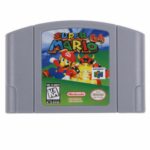 Nintendo N64 Game Super Mario64 Video Game Cartridge Console Card US/CAN Version