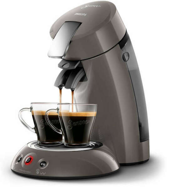PHILIPS Original Senseo HD6556/00 Kaffeepadmaschine Crema Plus
