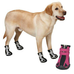 Guardian Gear Nordic Trek Dog Boots Snow Booties Paw Protection Winter Pet boot