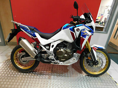 Honda CRF1100 Africa Twin Adventure Sport 2020 model with electronic suspension