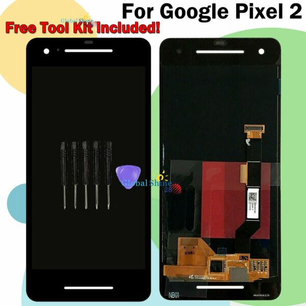 For Google Pixel 2 LCD Touch Screen Digitizer Display Assembly BLACK Replacement