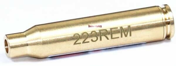 Vector Optics 223 REM En Laiton Cartouche Laser Rouge Bore Sight Collimateur