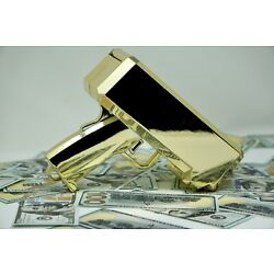 Kyпить Cash Gun / Bill shooter / Money Gun / Metallic Plated Gold на еВаy.соm