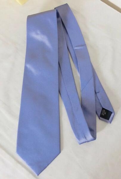 Dehavilland Blue Purple Silk Tie