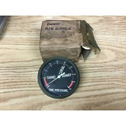 WWII DUKW Gauge, Air, Tank Pressure Assy.,  Sand, Coral, Hiway