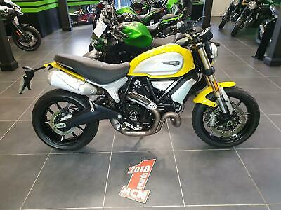 2018 Ducati Scrambler 1100 cc - Only 1099 miles with Full service history