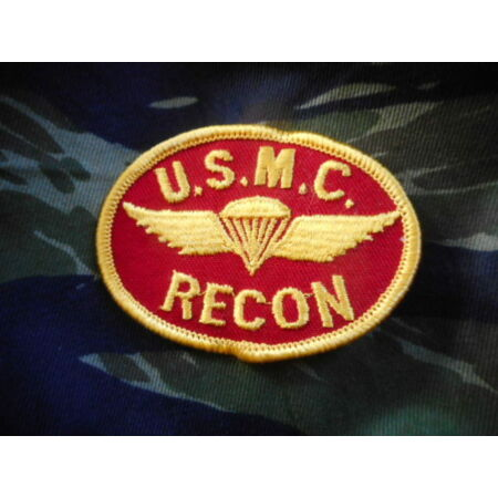img-rare USMC US MARINES FORCE RECON PATCH BADGE para wings VIETNAM WAR ERA NEW