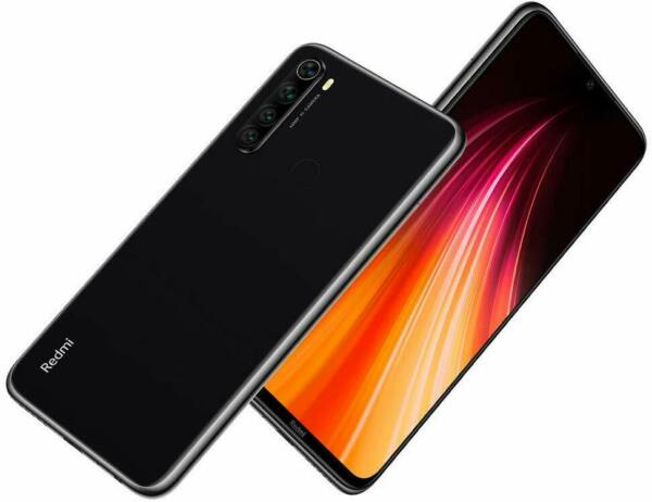 Telefono Smartphone  Redmi note 8 4GB 128GB Black Nero Versione Global Banda 20