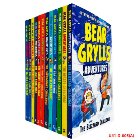 img-Bear Grylls The Complete Adventures Collection 12 Books Set (Blizzard, Desert, J