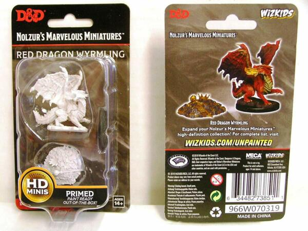 GroßbritannienDungeons & Dragons Nolzur's  Unpainted Miniatures (W10) Red Dragon W...