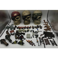 Kyпить Mega Bloks Pirates of the Caribbean Boat Parts Accessories And Figures Lot на еВаy.соm