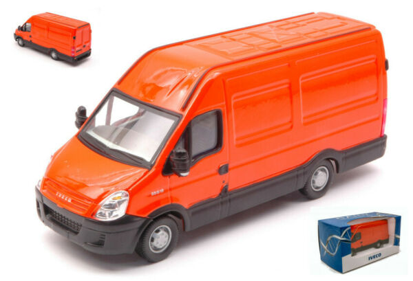 MODELLINO CAMION FURGONE SCALA 1:43 Ros NEW DAILY IVECO VAN truck lorry diecast