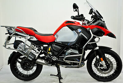 BMW R1200GS Adventure 2016, 66, Red, One Owner, FBMWSH, Loaded with Extras.