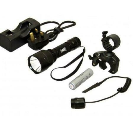 img-Clulite Pro Scanner 1000 Tactical Lamping Gunlight LED Torch Kit 300 metre