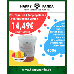 Kyпить 400g Bubble Tea Bobas Fruchtperlen fruity ball/ popping boba versch. Sorten je  на еВаy.соm