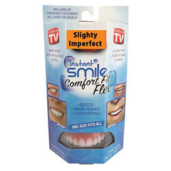 Kyпить Instant Smile Comfort Fit Flex-Slightly Imperfect White, One Size fits Most на еВаy.соm