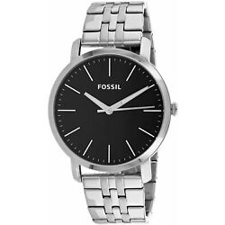 Kyпить Fossil Men's Luther BQ2312I 44mm Black Dial Stainless Steel Watch на еВаy.соm