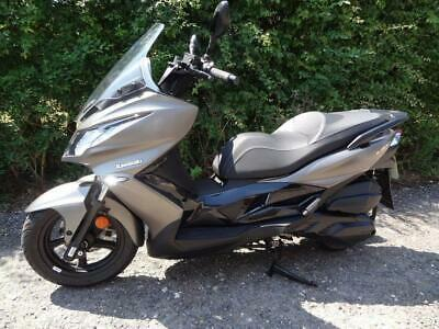 Kawasaki J300 ABS (SC300CHF) 299cc Scooter 2018 Immaculate Only 463 miles