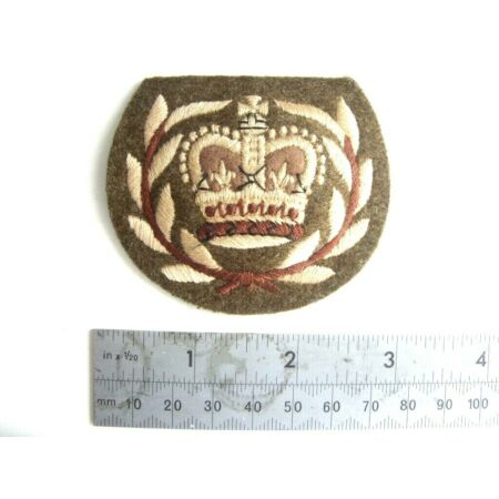 img-WO2 RQMS TQMS FOOT GUARDS - OLD No2 DRESS RANK BADGE BRITISH ARMY UK