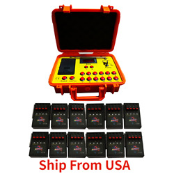 Kyпить NEW 500M 24 cues fireworks firing system 1200cues wireless control Ship From USA на еВаy.соm