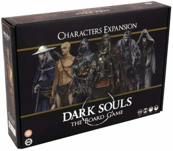 Steamforged Games Dark Souls: The Board Game-Characters Expansion,