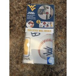 Peel And Stick Wall Decals 27 West Virginia Mountaineers Removable Decals