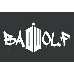 Dr Who Bad Wolf Sticker Vinyl Decal Car Laptop Wall Doctor Who DW